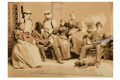 Mr. Brainwash, 'Star Wars Family', 2009