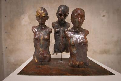 Samuel Yal, 'Nœvus - Silhouettes Feux or (Trio)', 2016