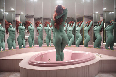 Juno Calypso, 'A Dream in Green from The Honeymoon Suite', 2015