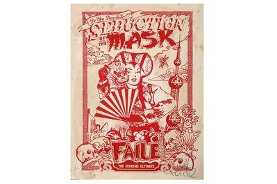FAILE, 'Seduction of the Mask (Shanghai Mao)', 2007