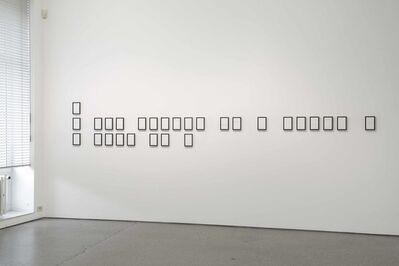 Iñaki Bonillas, 'Thought Figures: Balzac', 2008