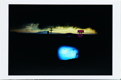 Ernst Haas, 'Western Skies Motel, New Mexico', 1978