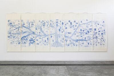 Qiu Zhijie, 'Map of Mythological Creatures', 2013