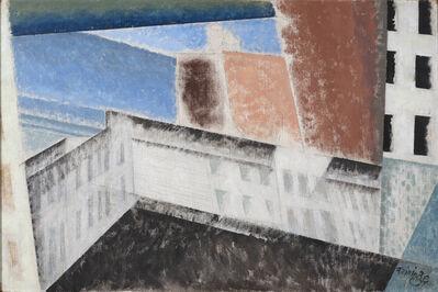 Lyonel Feininger, 'Architectural Composition I', 1940