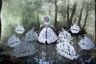 Kirsty Mitchell, 'The Queen's Armada', 2011