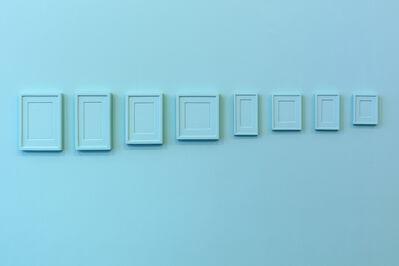 Claude Rutault, '8 Plaster Surrogates + 8 Repainted Plaster Surrogates', 2016