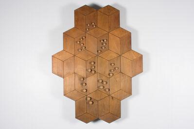Pol Bury, '32 Boules et 14 Cubes', 1997