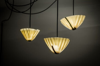"""gt2P, 'Chandelier from the series """"Less CPP N2 Porcelain vs. Lava Lights""""', 2014"""