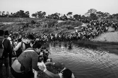 Ada Trillo, 'Crossing the Second Leg of the Suchiate River', 2020