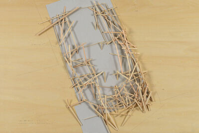 Tadashi Kawamata, 'Starting Over, Under Construction Maquette 2', 2017