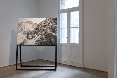 Ege Kanar, 'Visually Similar Images (Part 1: Untitled Photograph on a Wooden Stand), Untitled', 2019