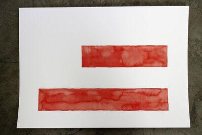 Maurício Ianês, 'Red Area', 2013
