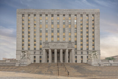Marc Yankus, 'Bronx County Building', 2017