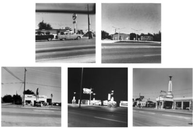 Ed Ruscha, 'Five Views from the Panhandle', 1962-2007