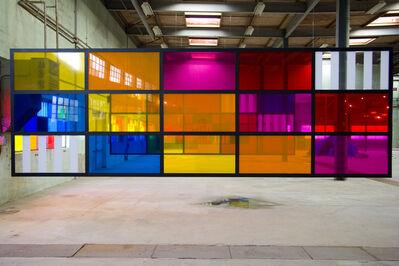Daniel Buren, 'Les couleurs suspendues n°6', 2007