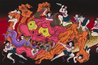 Yuji MORIGUCHI, 'Monster and Twenty one girls', 2015