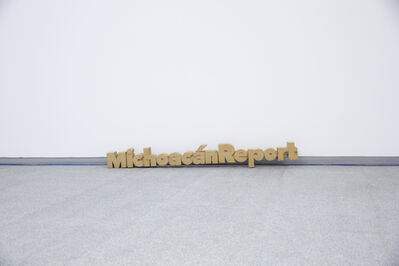 Yutaka Sone, 'Title Sculpture of Michoacán Report', 2016