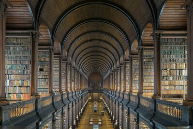 Reinhard Gorner, 'The Long Room, Trinity College Library, Dublin Ireland', 2015