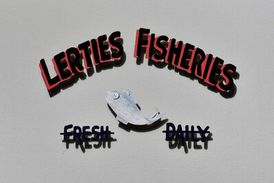 Sue Williamson, 'Signs of the Lost District: Lerties Fisheries', 2019