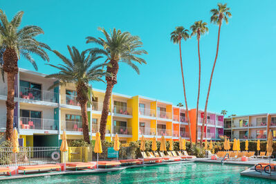 Ludwig Favre, 'Palm Springs Colorful 2', 2020