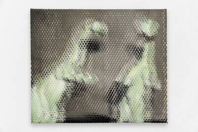 Michael Van den Abeele, 'Dinosaur painting #16', 2017