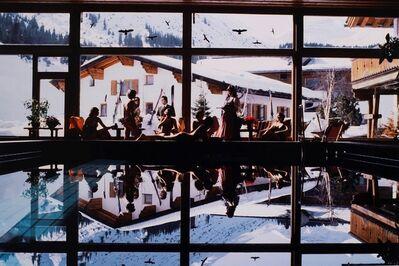 Slim Aarons, 'Gasthof Pool, Lech, Austria'