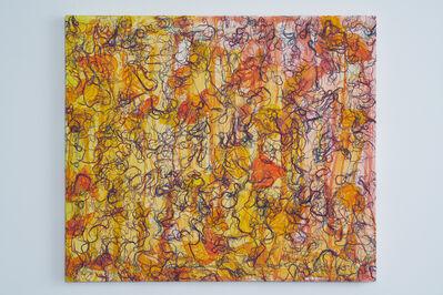 Ghada Amer, 'Small Leaves – RFGA', 2014