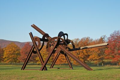 Mark di Suvero, 'Mozart's Birthday', 1989