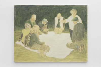 Bruno Pacheco, 'Seven Figures with a White Mantle', 2011
