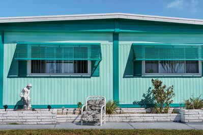 "David Kutz, 'Retro #9520; Ridgewood Mobile Home, Venice, FL USA; April 2015; 27°6'11"" N 82°25'55"" W'"