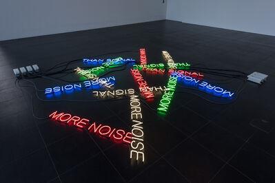 Tim Etchells, 'More Noise', 2016