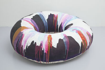 Nathalie Djurberg, 'Donut with Purple and White Glaze', 2013