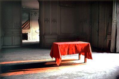 Antoní Taulé, 'Nappe rouge', 1979