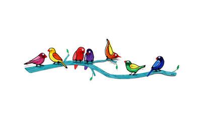 Shay Peled (Tzuki Studio), 'Birds on Branch', 2015