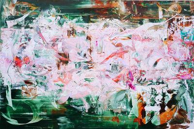"Jane LaFarge Hamill, '""LedZeppelin Fever MacNCheese Hurricanes"" ', 2017"