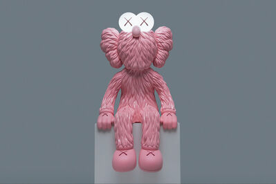 KAWS, 'SEEING (Pink Lamp)', 2019