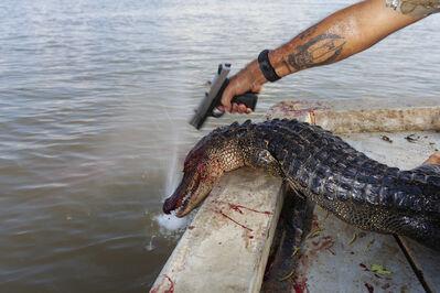 Matt Eich, 'Double-Tap, Shell Island, Louisiana', 2009