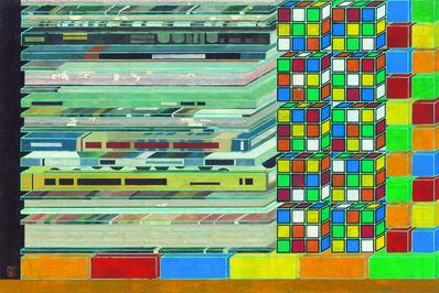 Peng Jian 彭剑, 'Puzzle No.8', 2018