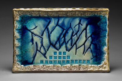 Tony Moore, 'Wood Fired Ceramic Painting: 'Fire Painting 11.6.18'', 2018
