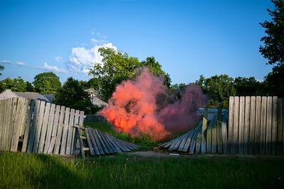 Irby Pace, 'Fence Smoke', 2018