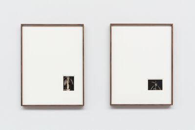 Gabriel Sierra, 'Portrait of Julia #8 and #10 - Gaston Bradbury', 1962 / 2019