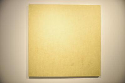 Marcia Hafif, 'Stronium Yellow Chromate', 1974