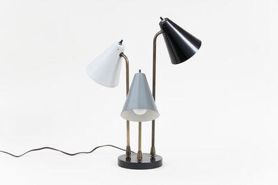 Gerald Thurston, 'Three-arm Desk Lamp', ca. 1950