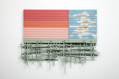 Nick Hollibaugh, 'Sorbet Skyline', 2016