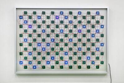 Tatsuo Miyajima, 'Life(complex system)No.4', 2016