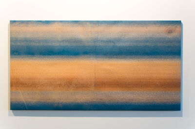 Dalila Gonçalves, 'Untitled (Lixa Grande Azul)', 2017