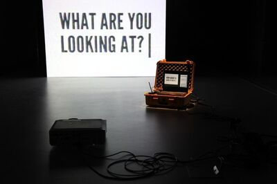 !Mediengruppe Bitnik, 'Surveillance Chess', 2012