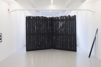 Johan Zetterquist, 'Study for a monument (Zion Fence)', 2011