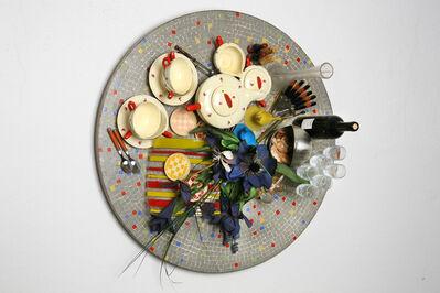 Daniel Spoerri, 'Faux Tableau-Piège (Serie: Mosaiques Années '50)', 2010