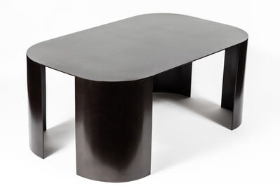 Style of Karl Springer, 'Mid-Century Bronze Coffee Table in the Manner of Karl Springer', ca. 1990